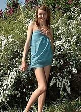 Nude young girl