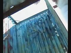 Hidden cam in beach cabin - 2
