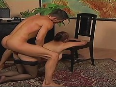 Maturewoman fucks Youngboy