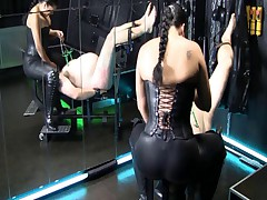 Under the mistress