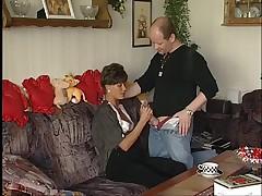 German Mature Couple Fucking