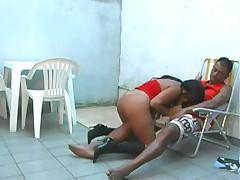 Brazilian cousins having sex