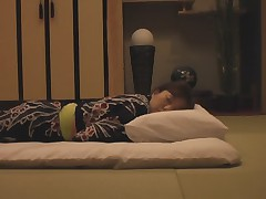 The young wife's massage in the japanese-style hotel 2