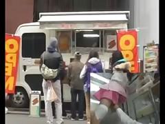 Sales of hot dog 2(censored)