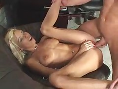 Nikky Blond at the office