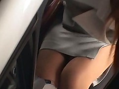 Pantyhose office secretary gets nylon sex ruled
