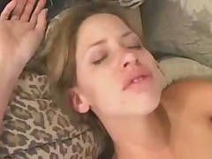 Babysitter Haley Gets Fucked on the Couch