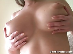Busty Alina perfect boobs
