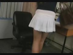 Teen Tgirl Ashley Jerks Their way Tiny Cock