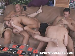 Amateurs play adult game to liven up a party