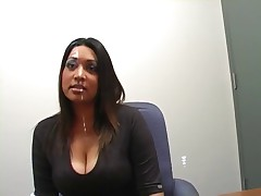 Two Chick In An Office