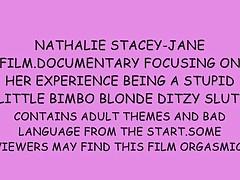 Nathalie stacey-jane stupid little dirty blonde bitch