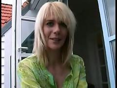 Hot german MILF fucked in her ass
