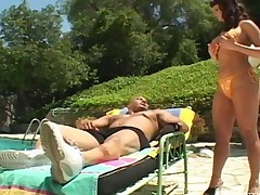 Fucking By The Pool