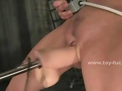 Voracious Large Pussy Eating Electric Fucking Machines One..