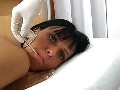 Letticia Gyno Exam By Female Gynecologist