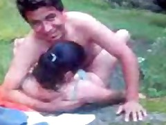 Indian Doctor And Wife Fucking In Park On Tour