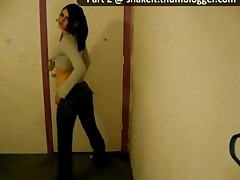 Girl Dancing Seductively In Tight Jeans 2