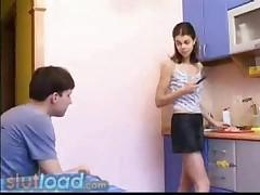 Kitchen porn movies