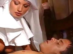 Italian Nun Hot Ass Italian Nun Does A Healing Fucking