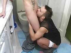 Cute Russian Teen Girl Fucked In Bathroom