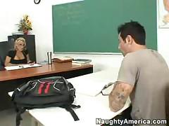 Hot Blonde Teacher Fucked Hard