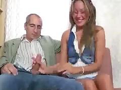 Teacher Doing Newbie Very Shy Blonde Teen