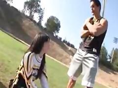 Schoolgirl Ashlyn Rae In Cheerleader Uniform Fuck College..