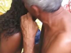 Old men fuck ebony chick