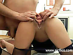 Extreme amateur whore needs her loose asshole fist fuck