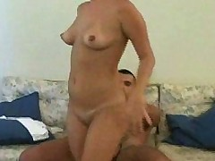 Her massage turns into some hardcore anal fucking