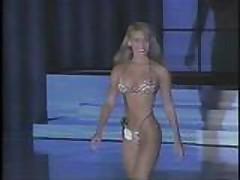 Julie Clarke - 1991 Venus Swimwear Contest