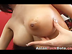 Japanese hairy pussy gets fucked