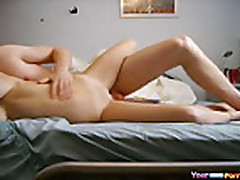Hot Teen Fucks And Moans Loud