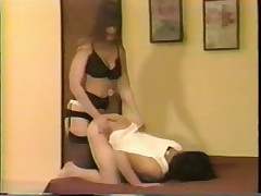 Strapon and Spanking