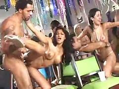 Brasilian Carnaval Orgy pt 6