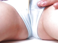 Busty Japanese chick squirts and its great