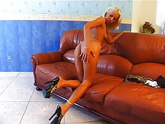 Horny blond bitch 2