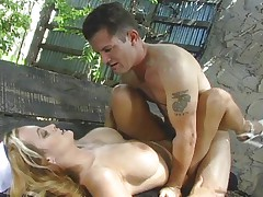 Busty nurse knows how to safe a man's live