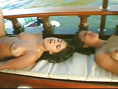 Latin boatfuck on the Amazon