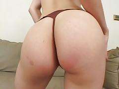 Black cock meets sexy redhead