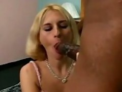 Bored Wife Tries 18 Inches Of Black Cock