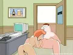 Family guy sex video, office sex