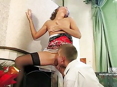 Young anal creampie fan