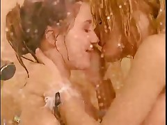 Two Dykes Banging In The Shower