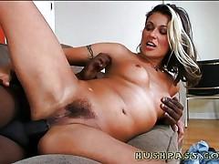 MILF Cindy going black