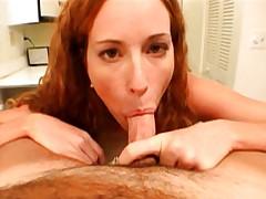 Ellia masturbates and sucks