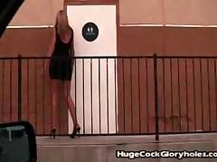 Darcy Tyler - Huge Cock Gloryholes