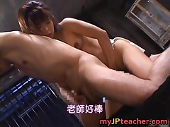 Bunko Kanazawa - Bunko Kanazawa Crazy Asian Teacher Enjoys Sex 4 By MyJPteacher