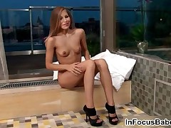 Avril - Glamorous Babe Avril Playing With Her Pussy And Her Ass 3 By InFocusBabes